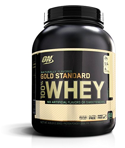 OPTIMUM NUTRITION Gold Standard Natural 100% Whey Gluten Free Vanilla, 217.7 g