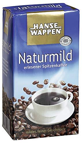 Hansewappen Kaffee Naturmild 500g 12er Pack