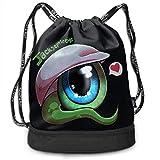 ocaohuahuaba fuyon Drawstring Bag Sport Gym Travel Pack Beam Mouth Bolsos de Hombro, Sam Septic Eye 12796