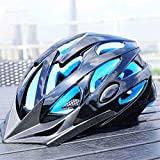 Casco da Bicicletta, Bici per Adulti Casco Specializzata per Protezione E Sicurezza delle Donne degli Uomini Dimensione Regolabile Leggero Casco da Bicicletta,A,M