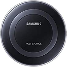 Samsung Qi Certified Fast Charge Wireless Charging Pad for Qi Compatible Smartphones with Built-in Cool Fan - Retail Packaging - Black