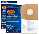 EnviroCare Replacement Micro Filtration Vacuum Cleaner Dust Bags Made to fit Eureka Style MM. Replaces Part# 60295C (Mighty Mite Vacuums) 18 Pack