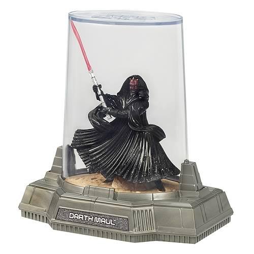 T18A Star Wars Darth Maul Druckguss Metall Figur Serie Titanium V4