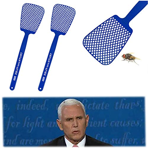 LUANXIU 2Pcs Home Office Daily Portable Fly Swatter- Truth Over Flies Biden Harris Fly Swatter
