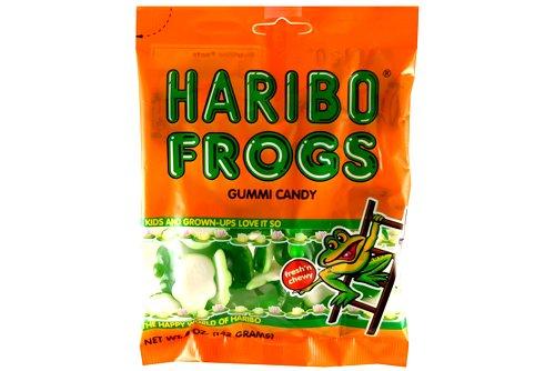 Haribo Gummies  Frogs  5 oz