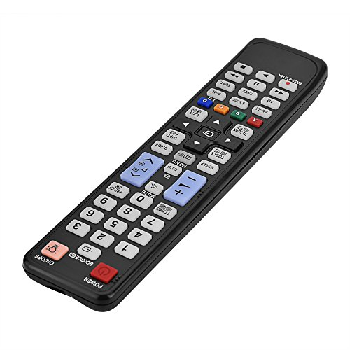 minifinker Control Remoto De TV Inteligente, Control Remoto De TV Dedicado, Reemplazo Universal con 2 Pilas AAA para Compatible con BN59-01015A