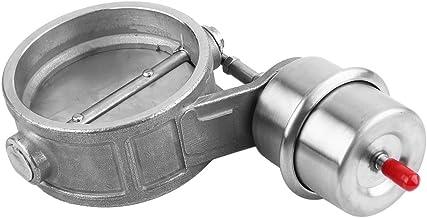 sportivo da 76/mm con bypass OptimumParts24 Controllo elettrico della valvola di scarico raccordo e telecomando