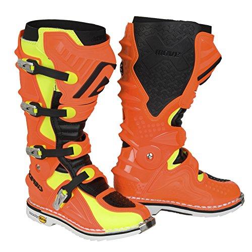 Acerbis 0017719.442.044 Stiefel X-Move 2 Flou T.44, Orange Flou/N, 44