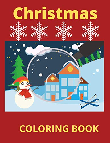 Christmas: Coloring Book For Children 4-8 age Christmas Balls