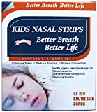 30 Natural Drug-Free Kids Better Breath Nasal Strips by JERN for Nasal Congestion, Allergy, Cold, Flu, Sinuses, Stuffy Nose, Snoring, Deviated Septum, Athletic Performance - Kids Ages 5 and Above