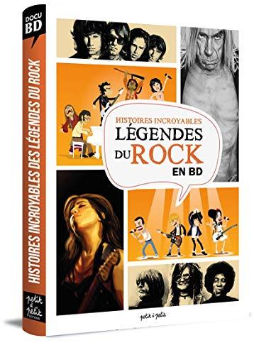Les légendes du rock en BD
