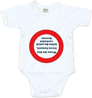 4youDesign Baby Body Unisex Bodysuit Wenn du das lesen Kannst… weiß – 100% Baumwolle – 3-24 Monate - Geschenkidee zu Geburt oder Vatertag