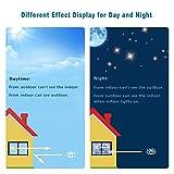 RH Art Sonnenschutzfolie Fenster UV-Schutz Verdunkelungsfolie Sichtschutz Spiegelfolie - Silber, 90 x 200 cm - 4