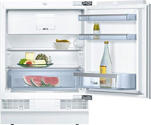 Bosch KUL15AX60 Serie 6 Unterbau-Kühlschrank mit Gefrierfach/A++ / 82 cm Nischenhöhe / 140 kWh/Jahr / 123 L/MultiBox/SafetyGlass