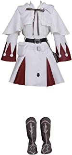 CosplayDiy Women's Dress for Final Fantasy XIV White Mage Cosplay