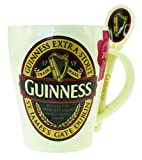 Guinness Mug & Spoon Set With Guinness Classic Collection Label Design