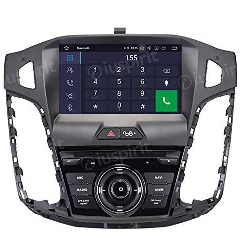 ANDROID 10 GPS USB SD DVD WI-FI Bluetooth autoradio navigatore Ford Focus 2011, 2012, 2013, 2014, 2015