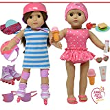 The New York Doll Collection 709951192078 Puppenzubehör passend für alle 46 cm Puppen –...