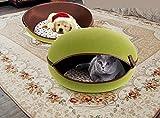 Lettino Per Animali Domestici Cuccia Rotonda O Ovale In Pile Per...