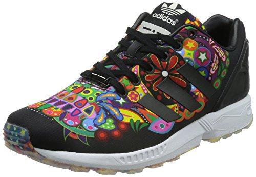 adidas ZX Flux, Zapatillas para Hombre, Negro (Core Black/Core Black/Chalk White), 39.3 EU