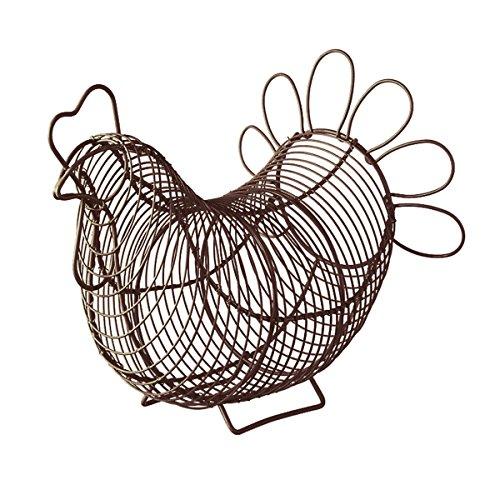 Eddingtons, cestino portauova a forma di gallina Brown