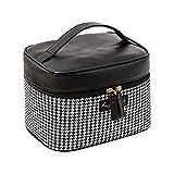 Gemice Makeup Bag Cosmetic Bag for Women Cosmetic Travel Makeup Bag Large Travel Toiletry Bag for Girls Make Up Bag Brush Bags Reusable Toiletry Bag