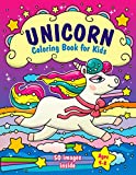 Unicorn Coloring Book for Kids Ages 4-8: (50 Images Inside)