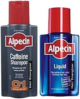 液体とカフェインシャンプーデュオ x4 - Alpecin Liquid And Caffeine Shampoo Duo (Pack of 4) [並行輸入品]