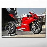UHvEZ 1000pcs_Adult Puzzle_Superbike Racing_Rompecabezas de Madera Personalizados, imágenes Completas, Juguetes de Bricolaje para decoración de Adultos_50x75cm