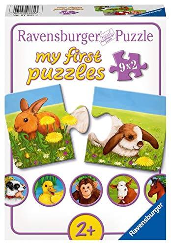 Mi Primer Puzzle: Animales simpáticos, 2 Piezas (07331 3)