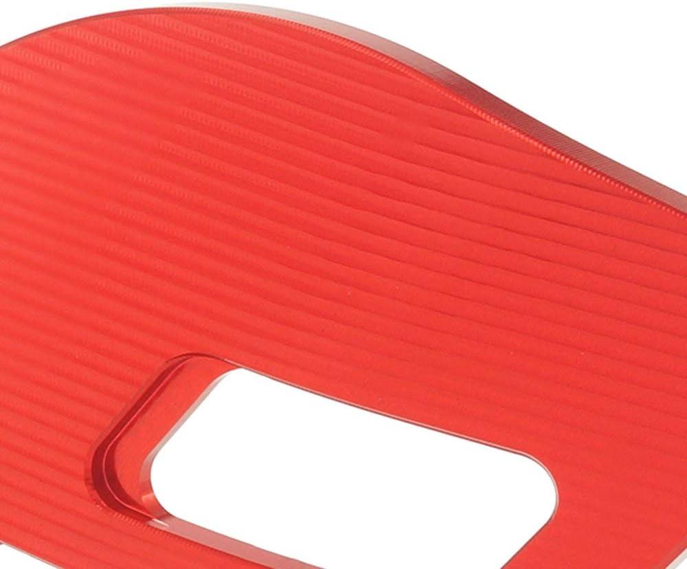 QIDIAN Parafango Moto Coperchio Laterale Forcella Anteriore Coperchio Bilanciere Ammortizzatore Blocco Decorazione Guardia per Ves pa Sp rint Prima vera 125 150 Black