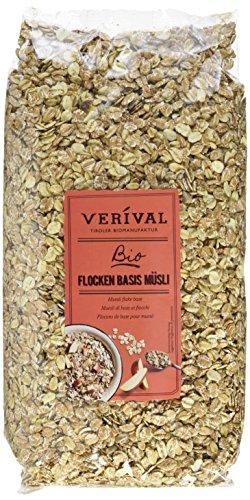 Verival Flocken Basis Müsli - Bio, 6er Pack (6 x 1 kg)