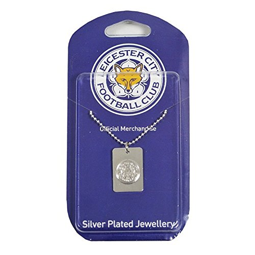 Leicester City F.C. Silver Plated Dog Tag & Chain