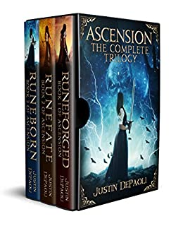 Ascension: The Complete Trilogy by [Justin DePaoli]