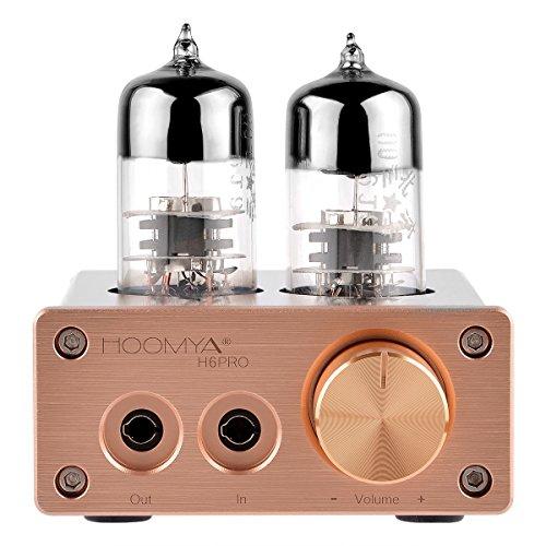 Hoomya 6J9 Mini Valve Tube Headphone Amplificatore del tubo di vuoto Mini Audio HiFi Stereo Cuffia Amp Audio Preamplificatore di Alimentazione