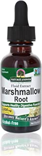 Nature's Answer Alcohol-Free Marshmallow Root Extract, 1-Fluid Ounce   Digestive Support   Promotes Respiratory Function  ...
