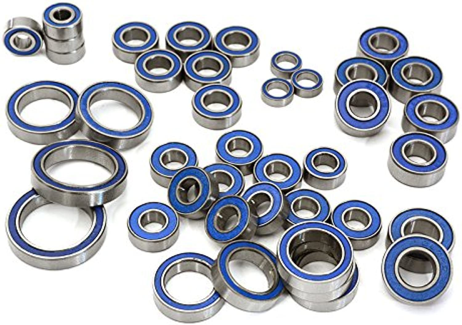 Integy RC Model Hop-ups C28041 Complete Rubber Seal Bearing Set (41) for Traxxas TRX-4 Scale & Trail Crawler
