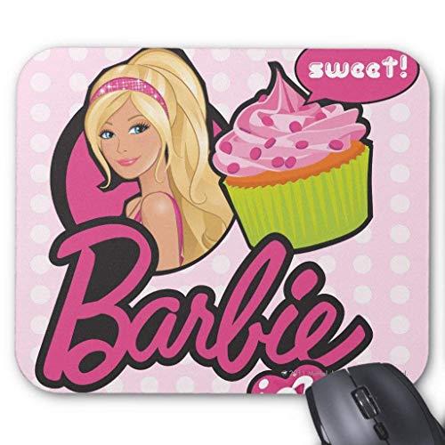 Barbie Delicious Cupcakes - Alfombrilla para ratón (18 x 22 cm)