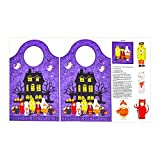 Northcott 0641784 Happy Halloween 24.5'' Bag Panel