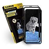 GAURUN iPhone 12 / iPhone 12 Pro ガラスフィルム (1枚入り) [ガイドツール付] 日本製旭硝子採用 硬度9H フルカバー 4D プライムネット