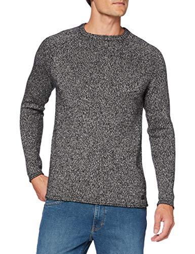 Strellson Premium Herren Mark-R Pullover, Dark Grey 024, M