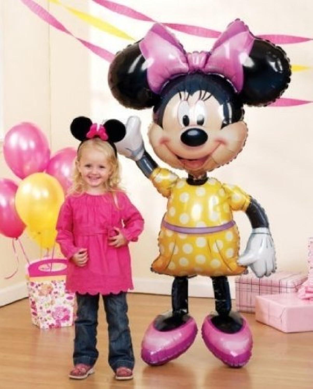 MINNIE Mouse Ears 54  Air WALKER AIRWALKER JUMBO Birthday Party Mylar Balloon by LGP