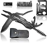 BERGGEIST Multi-Tool Survival Taschenmesser Set aus Edelstahl | Klappmesser & Zange | Inklusive EDC...