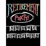 Creative Converting Retirement Chalk Party Invitations, One Size, Multicolor