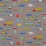 SCHÖNER LEBEN. Dekostoff Canvas Ottoman Fahrzeuge Autos