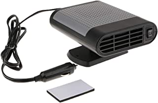 Blesiya 150W Car Heater Heating Cooling Fan for Windshield Demister Defroster - Gray