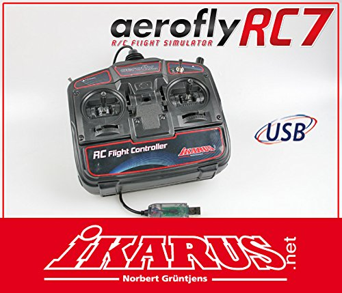 USB R/C Flight Controller for aeroflyRC7
