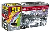 Heller 56995 LCVP Landing Craft Vehicle & Personal Modellbausatz, grau -
