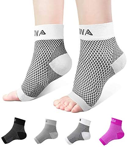 Ankle Brace for Men Women Pair AVIDDA Plantar Fasciitis Socks with Arch Support Compression product image