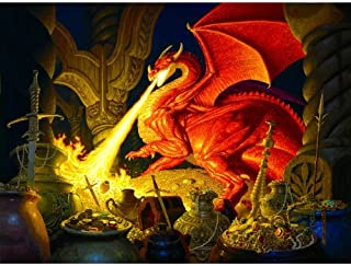 SUNSOUT INC Smaug Dragon 1000 pc Jigsaw Puzzle